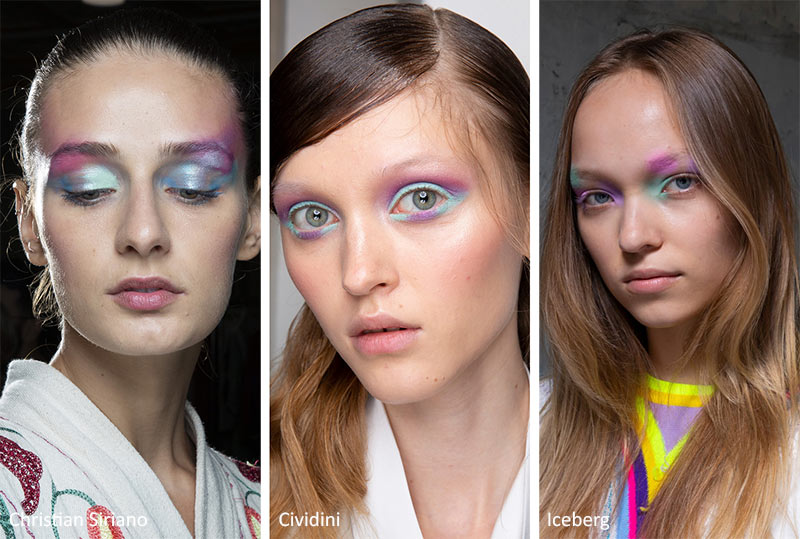 pastel eyecoors pastels lids trends water-colours soft glam colors 2020 makeup trends tips
